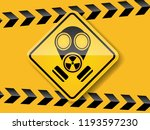 illustration of gas mask... | Shutterstock .eps vector #1193597230