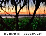 the beautiful beach of nwge... | Shutterstock . vector #1193597269