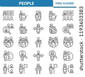 people icons. professional ... | Shutterstock .eps vector #1193603383