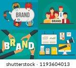 brand employer identity banner... | Shutterstock .eps vector #1193604013