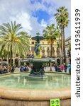 barcelona  spain   april 17 ... | Shutterstock . vector #1193611939