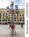barcelona  spain   april 17 ... | Shutterstock . vector #1193611963