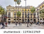 barcelona  spain   april 17 ... | Shutterstock . vector #1193611969