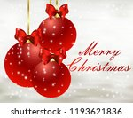 merry christmas card | Shutterstock .eps vector #1193621836