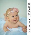 happy newborn baby. newborn...   Shutterstock . vector #1193649259