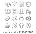 set of accepted payment  euro... | Shutterstock .eps vector #1193659783