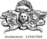 ancient cartouches | Shutterstock .eps vector #119367004