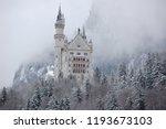 hohenschwangau  bavaria ... | Shutterstock . vector #1193673103