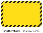 black and yellow warning line... | Shutterstock .eps vector #1193673643