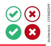 checkmark vector icon  approved ...   Shutterstock .eps vector #1193682049