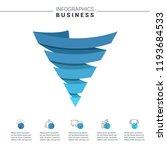 pyramid infographics. funnel...   Shutterstock .eps vector #1193684533