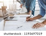 construction concept of... | Shutterstock . vector #1193697019
