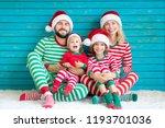 happy family having fun at... | Shutterstock . vector #1193701036
