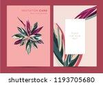 vector design of invitation... | Shutterstock .eps vector #1193705680