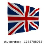 waving flag of the great... | Shutterstock . vector #1193708083