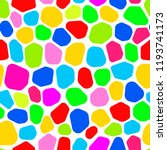 seamless pattern colourful... | Shutterstock .eps vector #1193741173