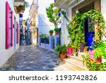 charming traditional narrow... | Shutterstock . vector #1193742826