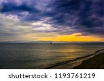 sunset landscape and dramatic... | Shutterstock . vector #1193761219
