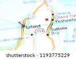 Leland Michigan Usa On Map Stock Photo Edit Now 1193775229