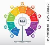 business presentation concept... | Shutterstock .eps vector #1193780680