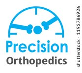 """precision orthopedics"" medical ... | Shutterstock .eps vector #1193786926"