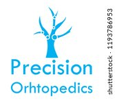 """precision orthopedics"" medical ... | Shutterstock .eps vector #1193786953"