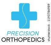 """precision orthopedics"" medical ... | Shutterstock .eps vector #1193786989"