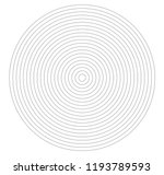 concentric circle element.... | Shutterstock .eps vector #1193789593