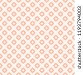 subtle vector floral seamless... | Shutterstock .eps vector #1193794003