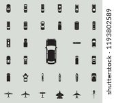 car icon. transport view from... | Shutterstock .eps vector #1193802589
