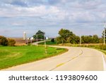 Paved Road Winding Across...