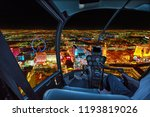 helicopter interior on las... | Shutterstock . vector #1193819026