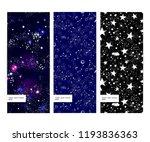 space galaxy constellation... | Shutterstock .eps vector #1193836363