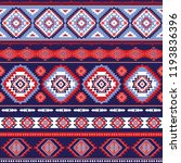 indian rug tribal ornament... | Shutterstock .eps vector #1193836396