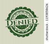 green denied distressed rubber... | Shutterstock .eps vector #1193858626