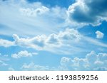 sky clouds nature abstract... | Shutterstock . vector #1193859256