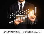 data management system with... | Shutterstock . vector #1193862673