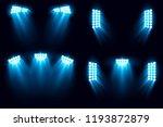 bright stadium arena set... | Shutterstock .eps vector #1193872879