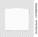 torn paper edges for background.... | Shutterstock .eps vector #1193884060