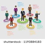 businessman infographic  text ...   Shutterstock .eps vector #1193884183