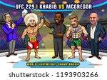 ufc 229  khabib vs. mcgregor is ... | Shutterstock .eps vector #1193903266
