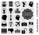 set of 22 business related... | Shutterstock .eps vector #1193913736