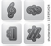 music notation represents music ...   Shutterstock .eps vector #119391424
