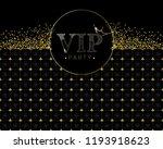vip party invitation. premium... | Shutterstock .eps vector #1193918623