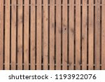 smooth wooden fence texture... | Shutterstock . vector #1193922076