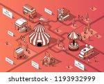 vector 3d isometric food... | Shutterstock .eps vector #1193932999