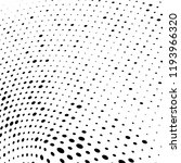 abstract halftone radial dotted ... | Shutterstock .eps vector #1193966320