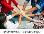 when we are together  we are... | Shutterstock . vector #1193985400