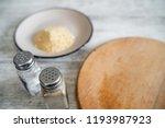 bottles for salt and pepper ... | Shutterstock . vector #1193987923