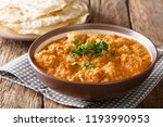 delicious indian chicken... | Shutterstock . vector #1193990953